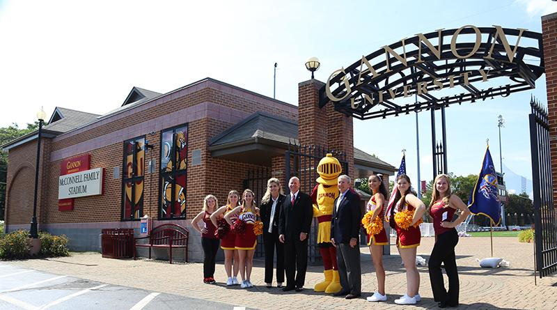 Gannon University Tuition >> Gannon names field after McConnell family | The Gannon ...