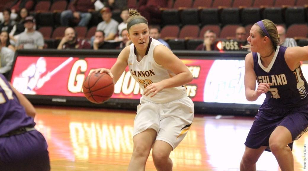 Women's basketball splits the weekend   The Gannon Knight ...