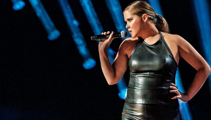 amy schumer sends message with comedy the gannon knight gannon