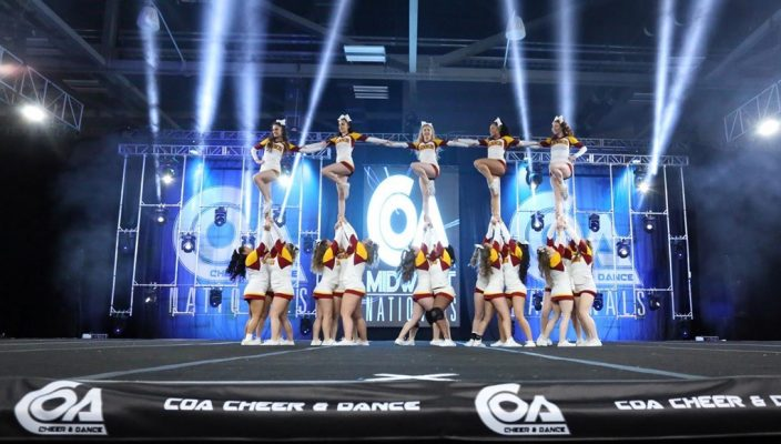 6bd3e93df8 Competitive cheer teams find success in first meets