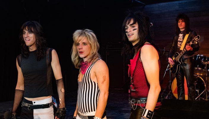The Dirt Machine Gun Kelly as Tommy Lee; Douglas Booth as Nikki Sixx, Daniel Webber as Vince Neil, Iwan Rheon as Mick Mars