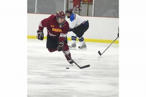 GU hockey skates into first place