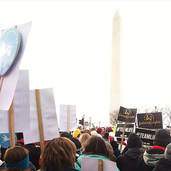 Gannon goes to Washington, March for Life
