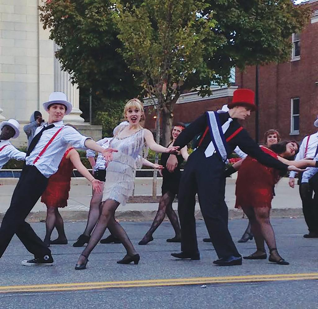 Homecoming Parade celebrates student creativity