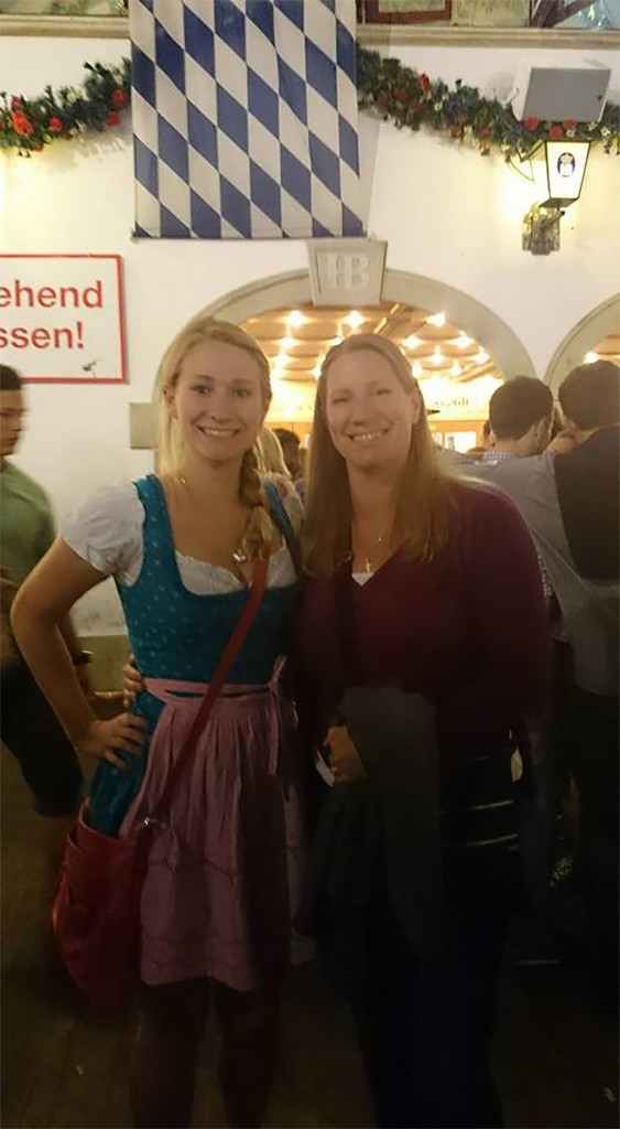 When in Rome: Student braves crowd at Oktoberfest