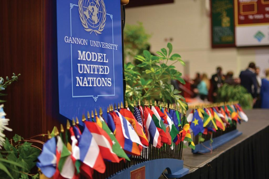 Gannon+hosts+63rd+annual+Model+United+Nations