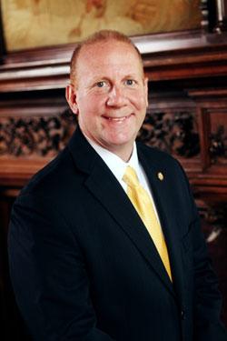 Gannon to reorganize administrative roles