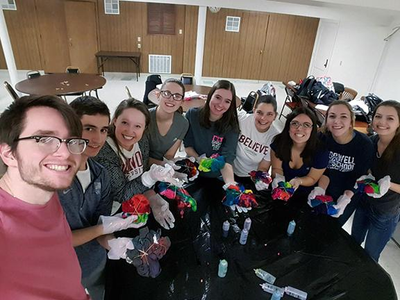 Gannon students spend spring break giving  back