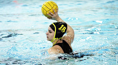 Women's water polo wins two