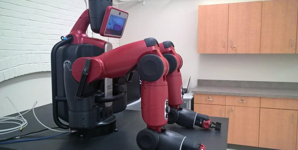 Industrial engineering department gets new robot