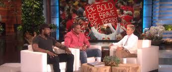 Pitt football inspiration debuts on Ellen's show