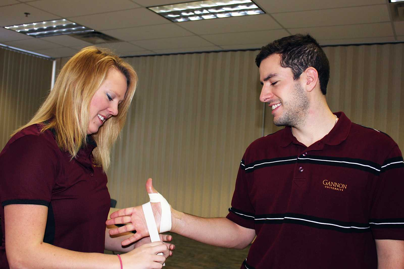 Athletic training program gains accreditation