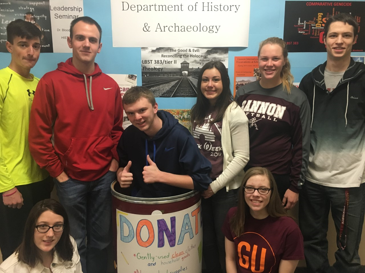 History students to accept donations for refugees