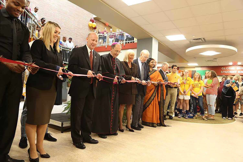 Gannon University dedicates new Beyer Hall