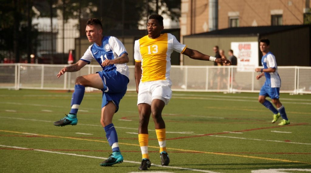 Men's soccer ends weekend on high note