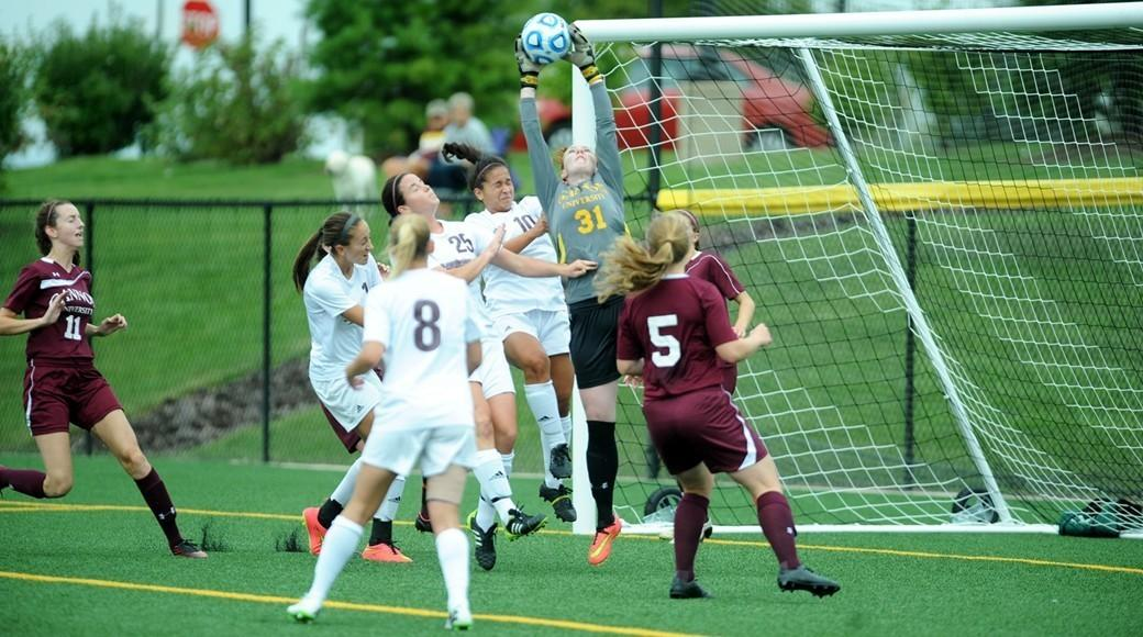 Women's soccer blanks Marauders, 1-0