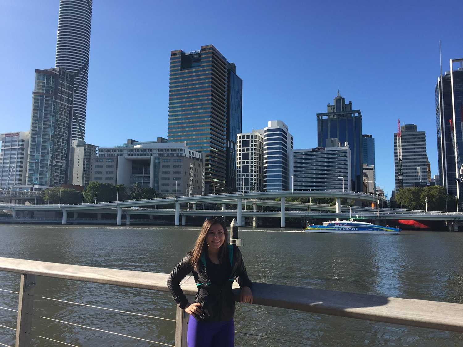 Student reflects on life in Australia