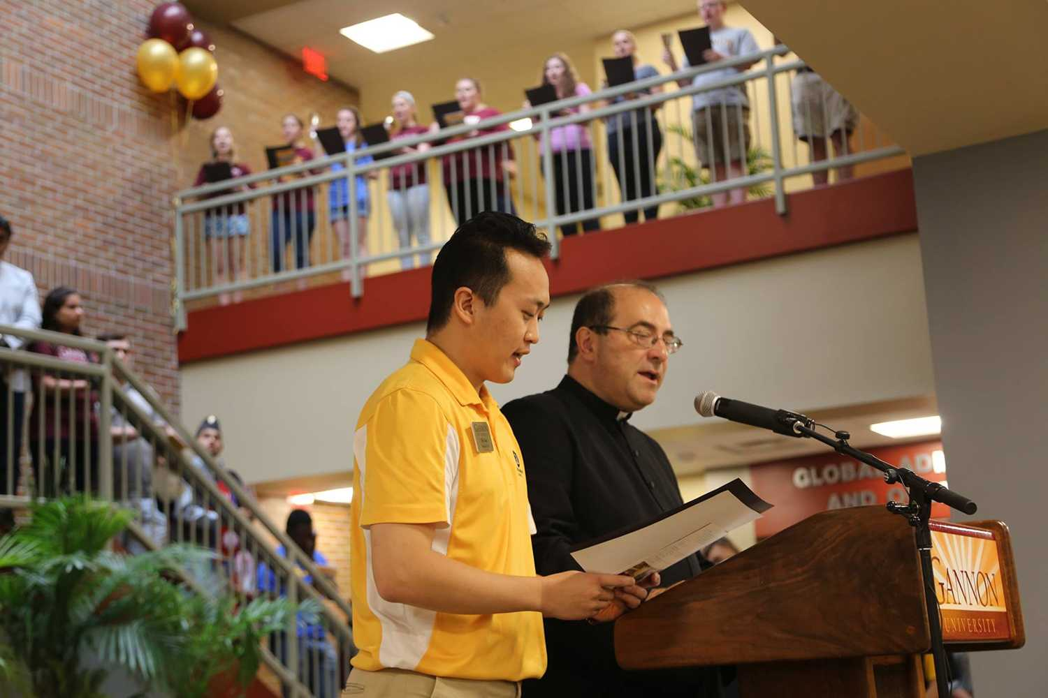 Finding God on Gannon's Campus: Kesicki reflects on dedication, blessing of Beyer Hall