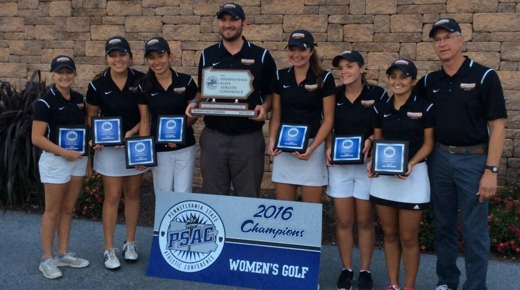 Women's golf wins PSAC title