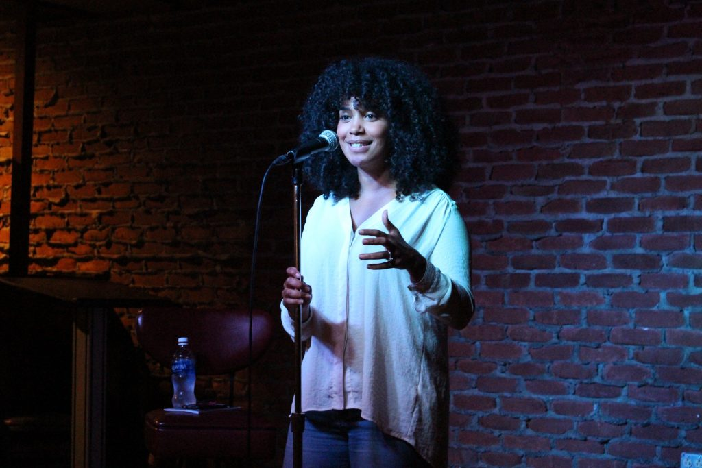 Slam poet takes Knight Club stage