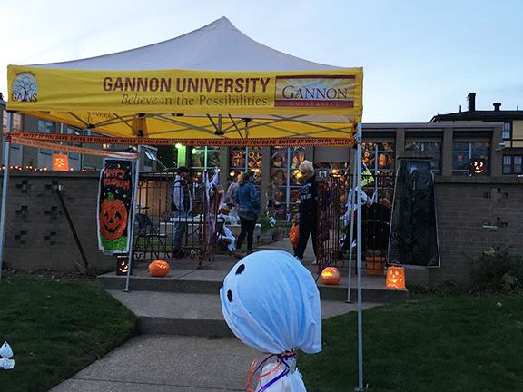 Gannon Goodwill Garden hosts trick-or-treaters