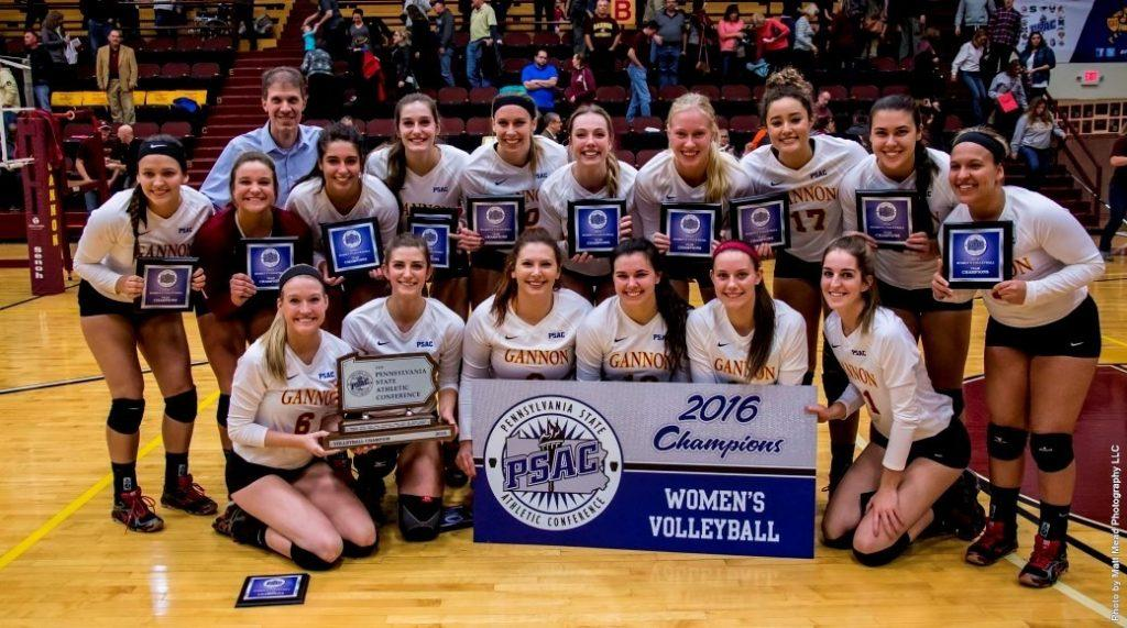 Volleyball wins PSAC title