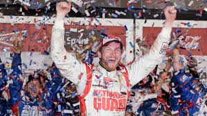 Earnhardt emerges from the rubble to race again