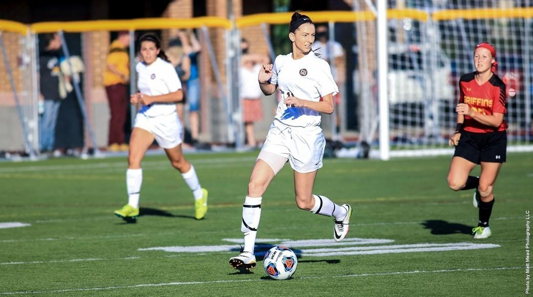 Women's soccer wins in OT