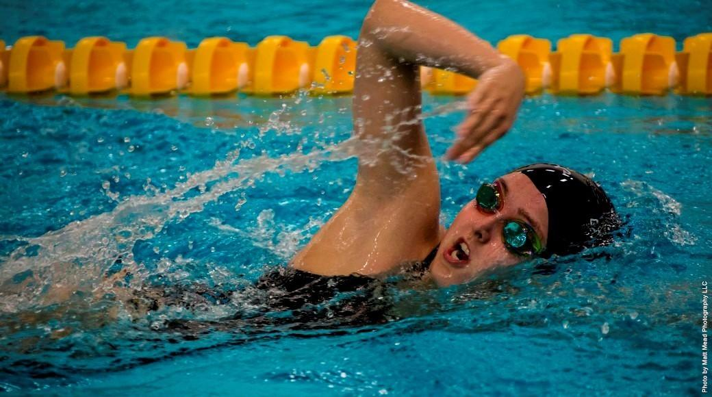 Women swimmers place second at tri-meet