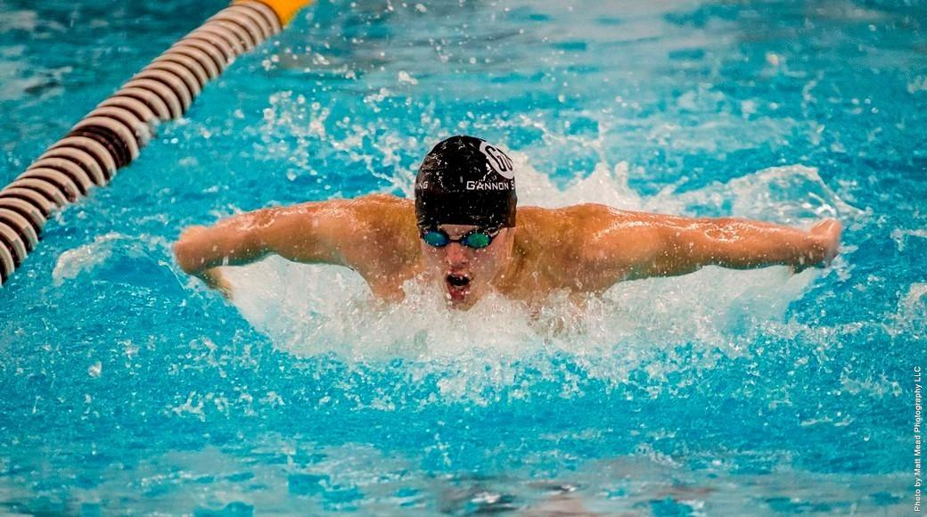 Men's swimming comes out on top