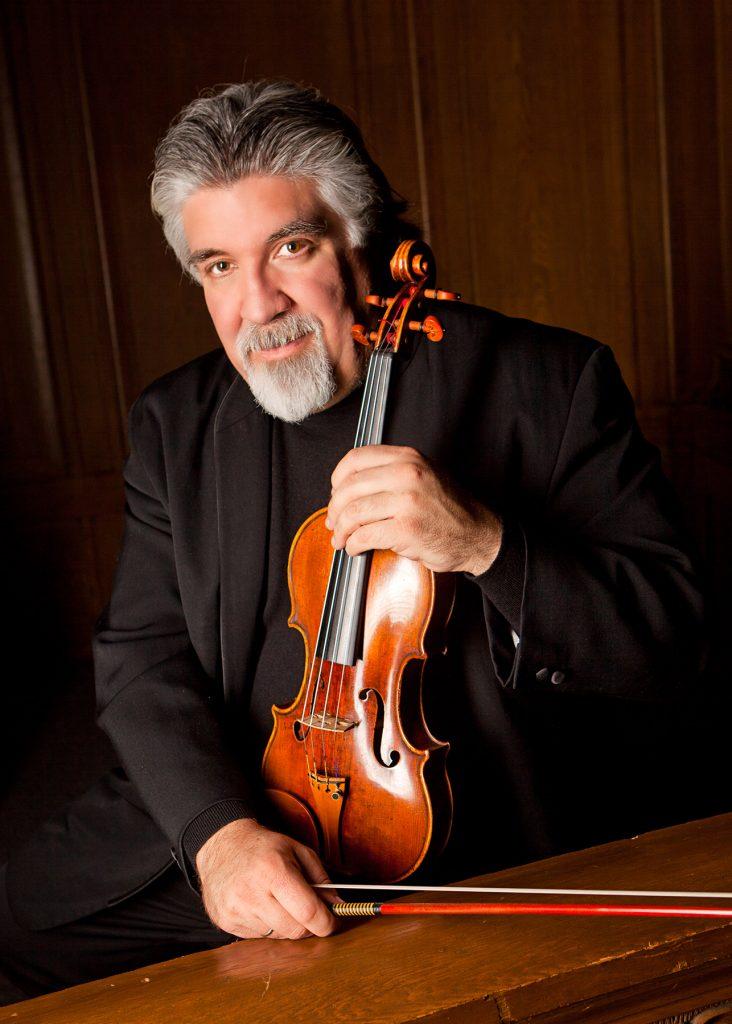 Violinist Andrés Cárdenes visits Erie