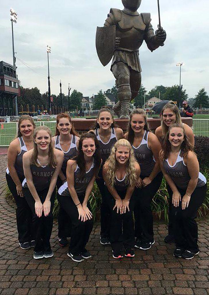 Gannon dance team to put on clinic