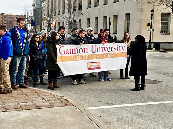 Gannon, Erie community celebrate MLK Day