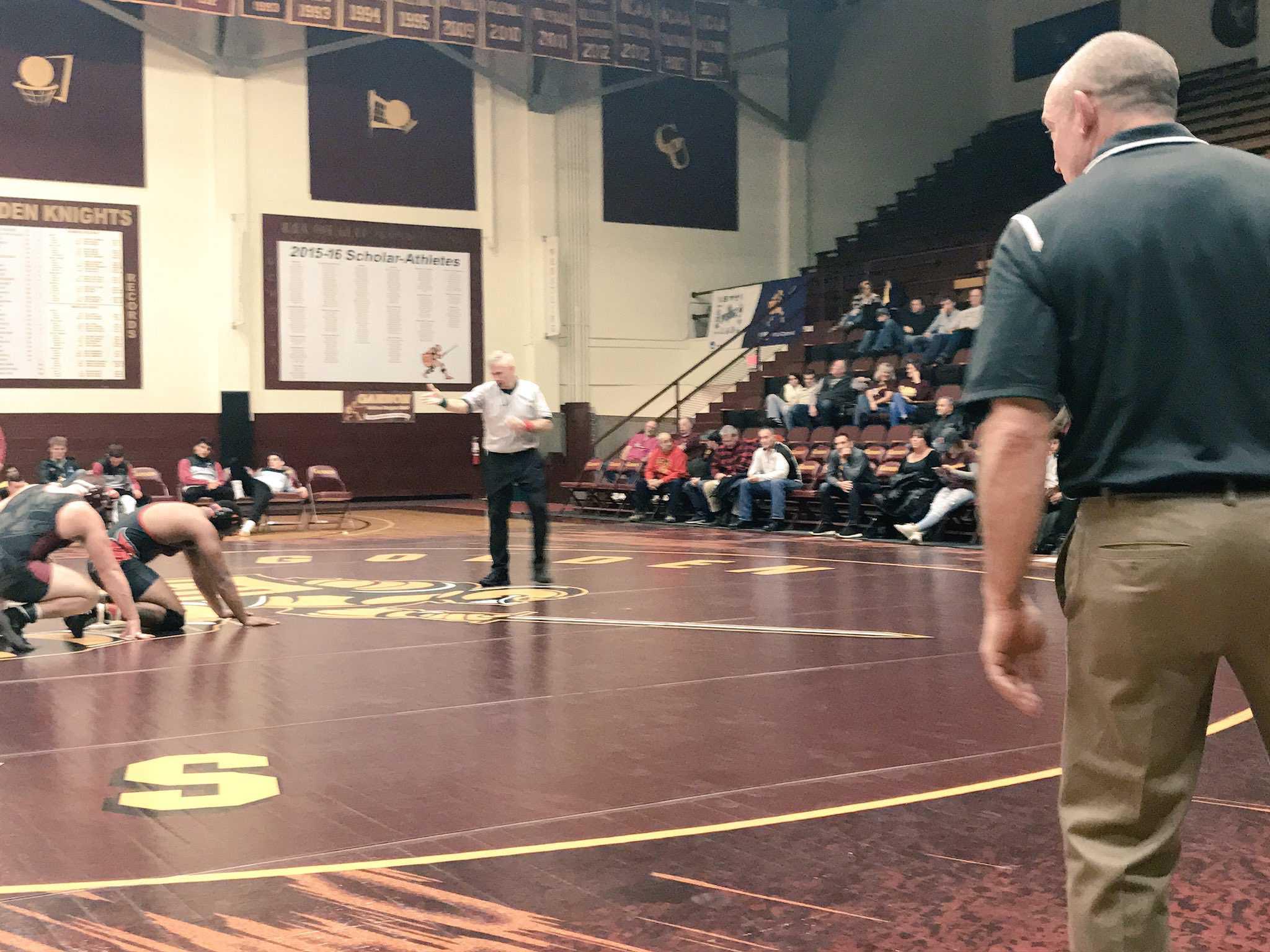 Wrestling beats Seton Hill, Wheeling Jesuit