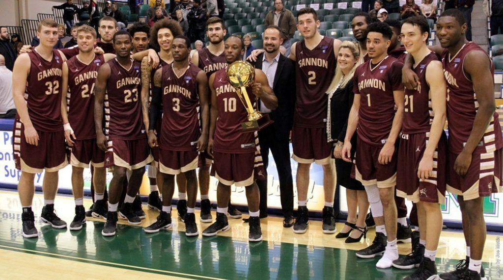 Men's basketball wins Porreco Pride of Erie game