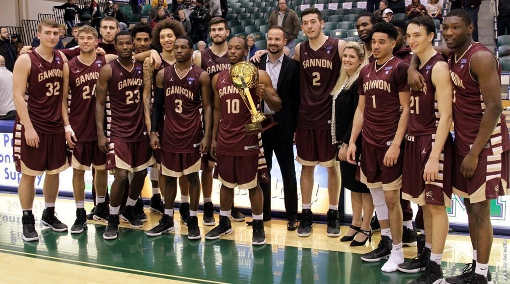Men's basketball wins Porreco Pride of Erie game