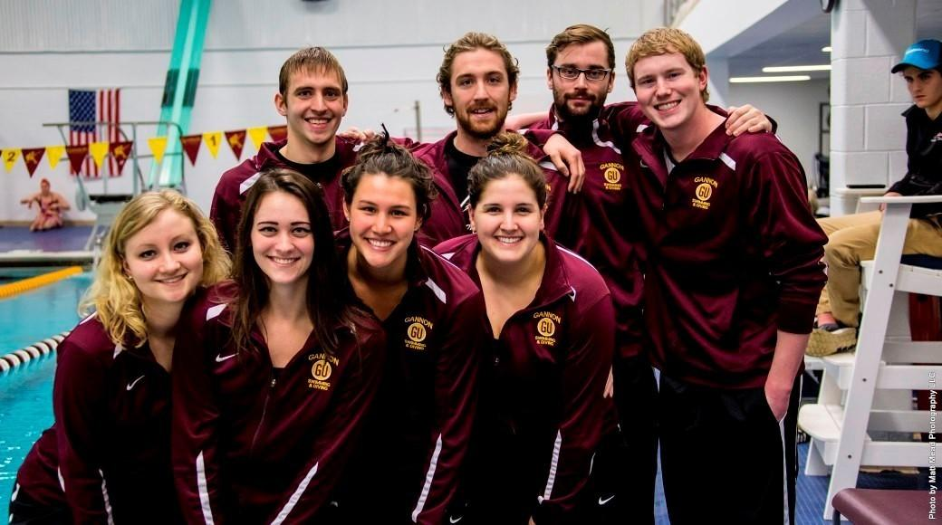 Senior Day win for men's swimming