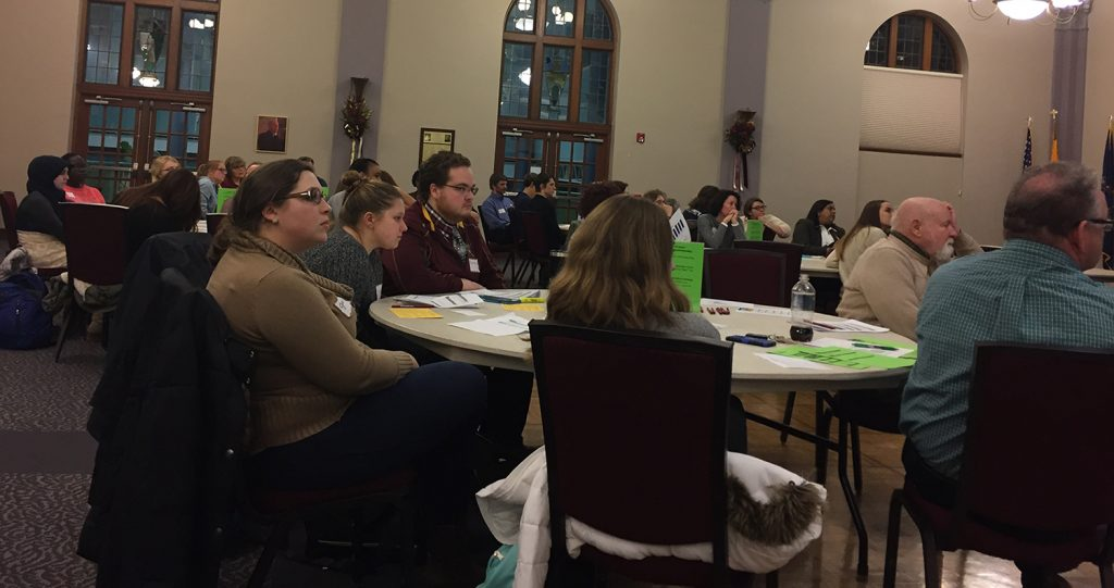 Dean Fleming leads immigration discussion
