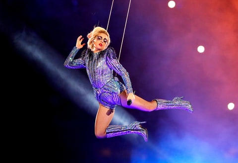 Super Bowl LI show goes 'Gaga'