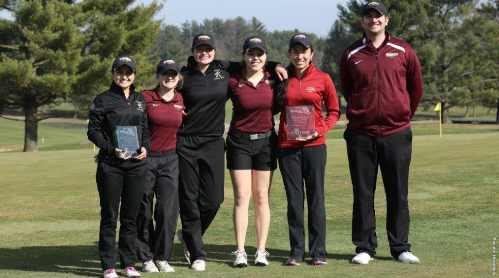 Women's golf places first