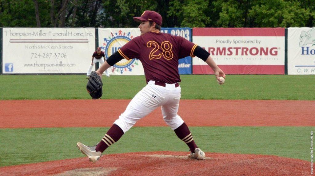 Baseball+splits+four+games+with+Seton+Hill