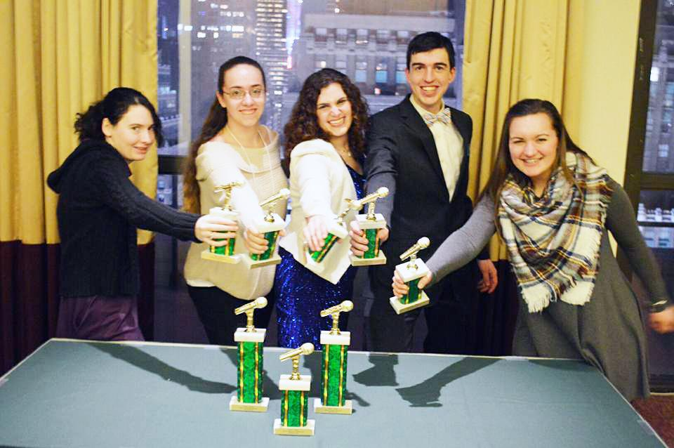 Gannon radio in the Big Apple: WERG wins big during during annual media conference over spring break