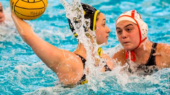 Women's water polo starts strong, falls short