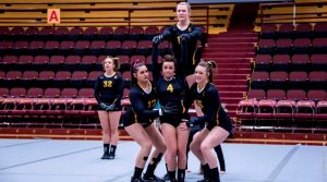 Gannon acro and tumbling falls to Division I Baylor