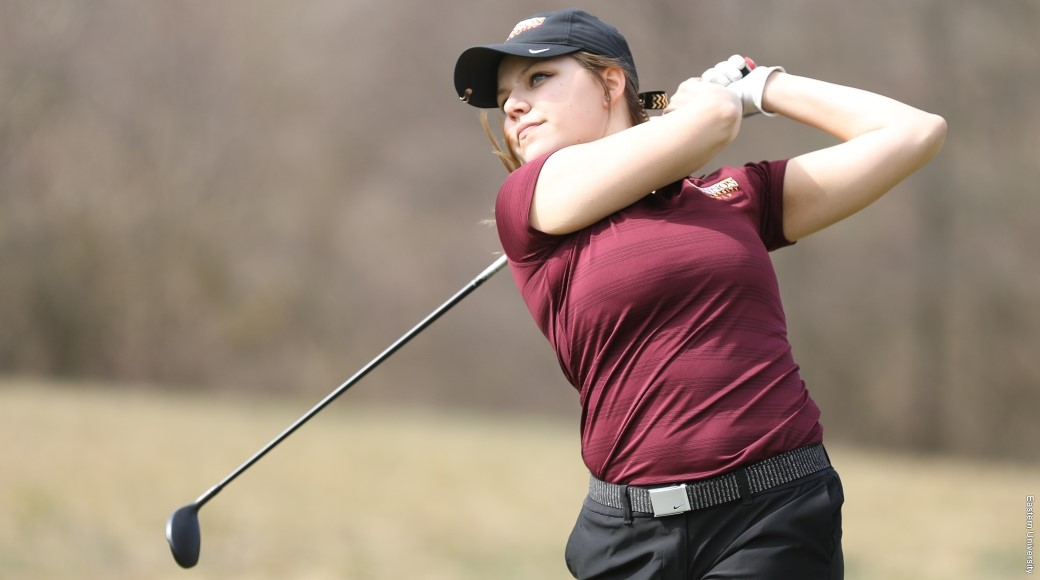 Women's golf places 10th  out of 18