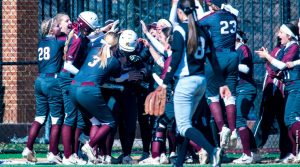 Softball collects three wins