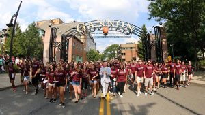 Welcome to Gannon, first-year students