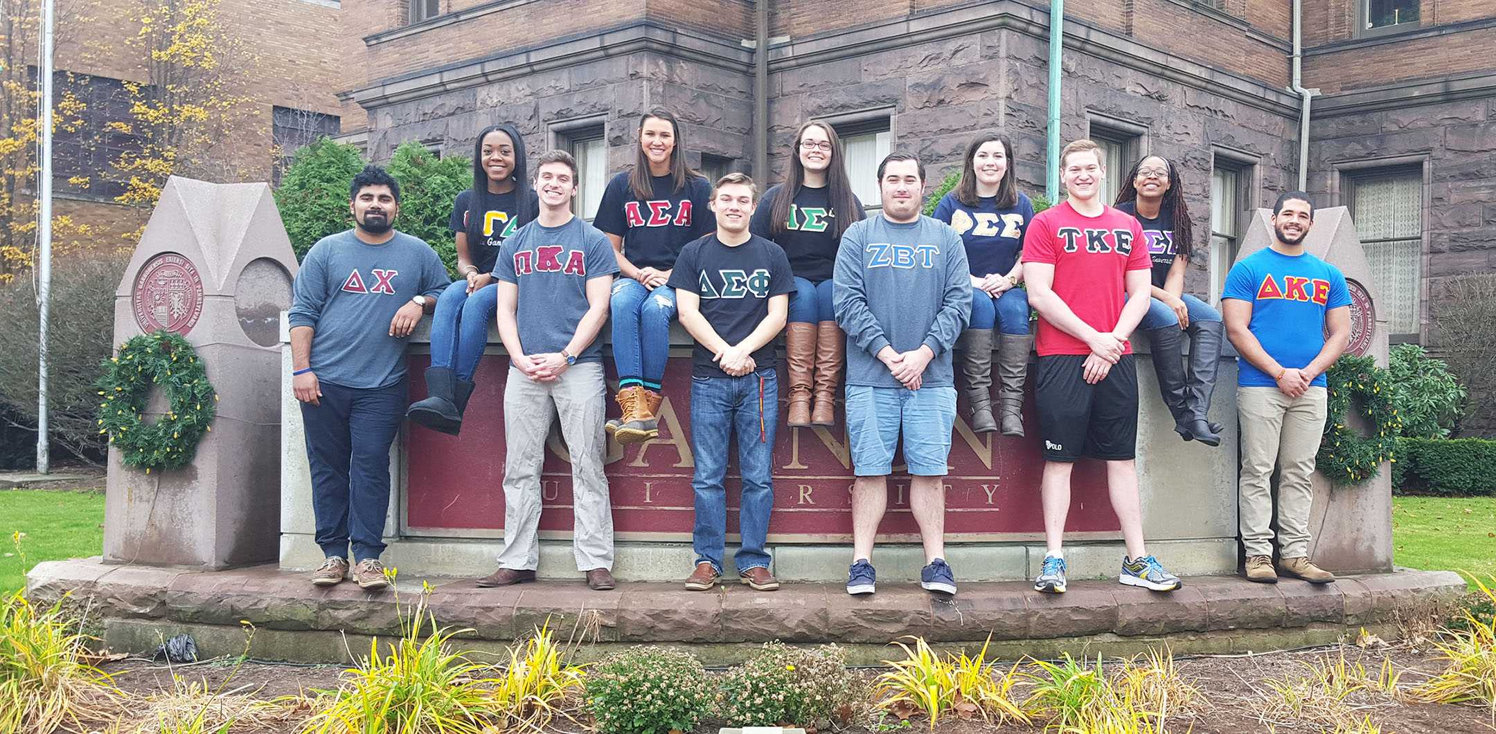 The good in joining Greek life on Gannon's campus