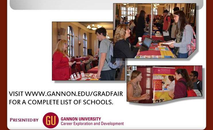 Gannon hosts Graduate Fair Expo
