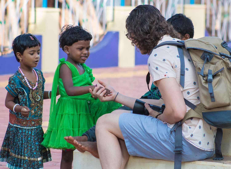 Students volunteer on India service trip